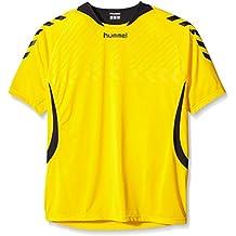 Hummel, Maglia a maniche corte Team Player Match Jersey, Giallo (Sports Yellow / Black), XXXL