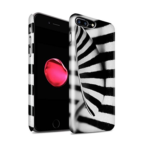 STUFF4 Glanz Snap-On Hülle / Case für Apple iPhone 8 Plus / Löffel/Streifen Muster / Abstrakte Kunst Kollektion Löffel/Streifen