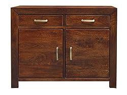 Murliwala Neo kashmir Sideboard with 2 door and 2 drawer (walnut)