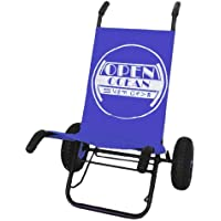 Surf & Strand Caddy - Rolly für Surfbrett Transport - blau (Beach Caddy)