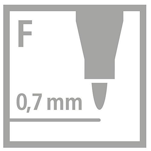 confronta il prezzo Stabilo OHPen universal Fine permanente colore Nero - Confezione da 10 miglior prezzo