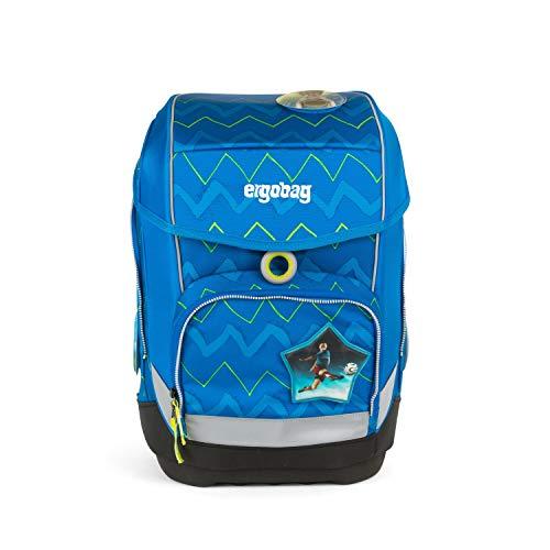 Ergobag cubo LiBäro 2:0, ergonomischer Schulrucksack, Set 5-teilig, 19 Liter, 1.100 g, Grün