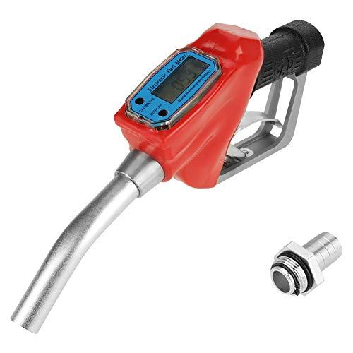 Zapfpistole, Digitale Zapfpistole für Heizöl und Benzin mit Durchflussmesser