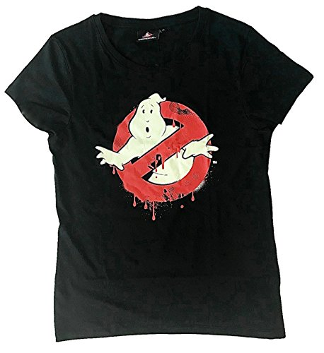 Beats & More Ghostbuster - Neon (Glow In The Dark) Unisex (3XL) (Ghostbusters Logo T-shirt)