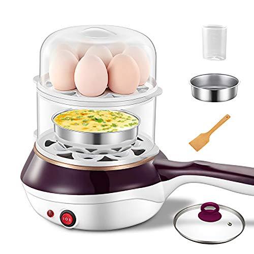 Haushalts-Multifunktions-Antihaft-Pfanne Kleine Bratpfanne Plug-In Omelett Gedämpftes ei