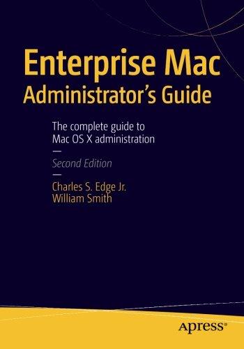 Preisvergleich Produktbild Enterprise Mac Administrator's Guide