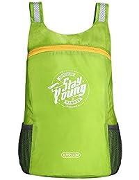 Auslese™ Lightweight Foldable Waterproof Women Men Skin Pack Backpack Travel Outdoor Sports Camping Hiking Bag...