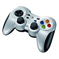 The Logitech Wireless Gamepad F710 uses a powerful, reliable, cable-free 2.4 GHz, Grey