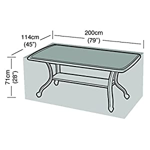 Garland 8 Seater Rectangular Table Cover – Silver Grade (W1380)