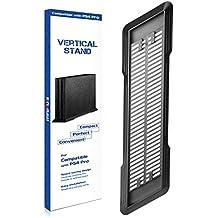 innoAura Soporte Vertical para PS4 Pro con Patas Antideslizantes y Ventiladores de enfriamiento para Playstation 4 Pro