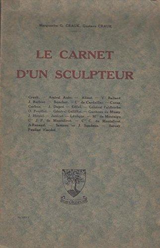 Le carnet d'un sculpteur