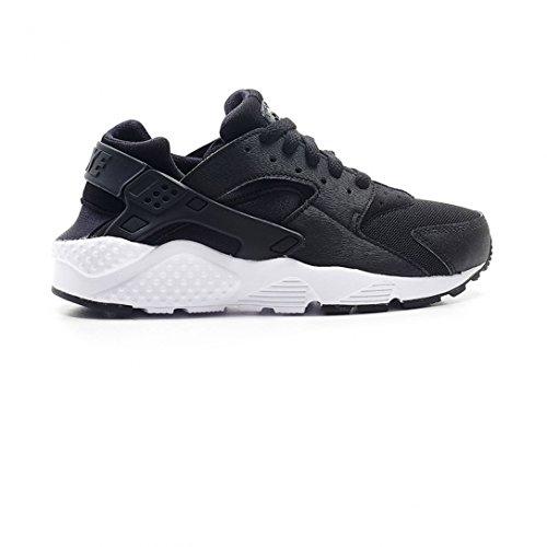 Nike Huarache Run Gs, Sneaker a Collo Basso Bambino, Multicolore (Black/White), 38 EU