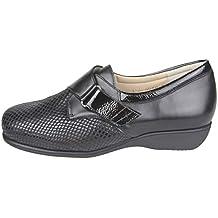 94226598 CARI Falco - Zapato ortopédico Especial para pies delicados. Tiene la Pala  elástica de Licra