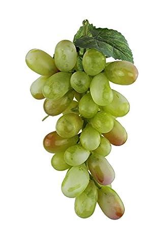 Deko Weintrauben Rispe Wein Trauben Kunstobst Kunstgemüse künstliches Obst Gemüse