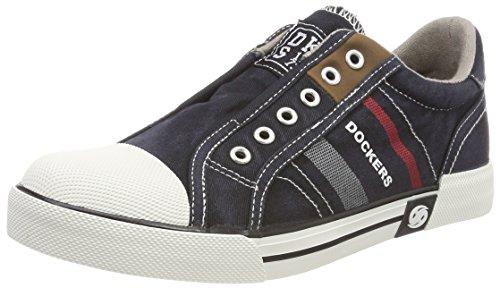 Dockers by Gerli Unisex-Kinder 42TB603-790100 Sneaker, Schwarz (Schwarz 100), 34 EU