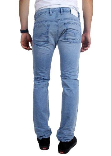 Diesel - - Männer Shioner Enge Jeans, Farbe: 0605L Denim