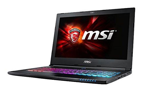 MSI GS60 6QE(Ghost Pro)-063UK 15.6 Gaming Notebook Intel Core i7-6700HQ, 8 GB DDR IV, 1 TB HDD, 128 GB SSD, LAN, WLAN, Nvidia GTX970M Graphics, Windows 10