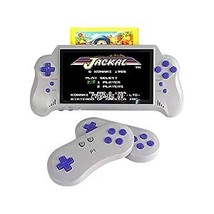 SU Kind Erwachsene Handheld-Spielkonsole Arcade Spielzeug Wireless-Farb-Bildschirm 7 Zoll FC NES