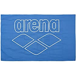 ARENA Towel Toalla de Microfibra Pool Smart, Adultos Unisex, Royal/White, Tu