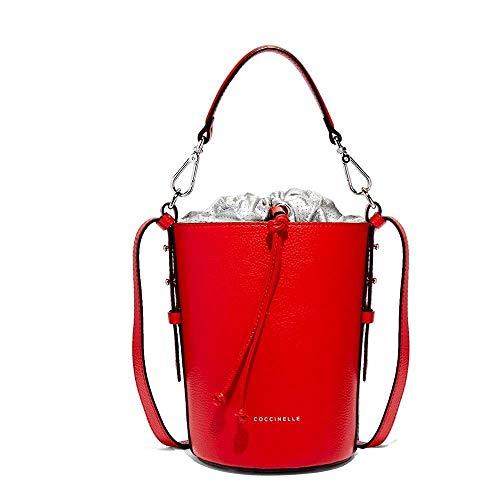 Coccinelle Tasche BETA Damen Leder Rot/silber - E1DH0230201961