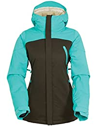686 Womens Authentic Festival Insulated Jacket - Coffee-Large