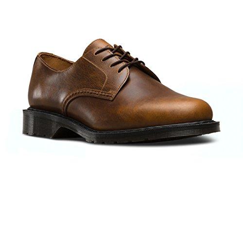 Dr.Martens Mens Octavius Leather Shoes Marron