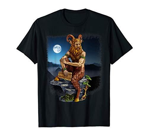 Pan der Wildnis im Mondschein T-Shirt