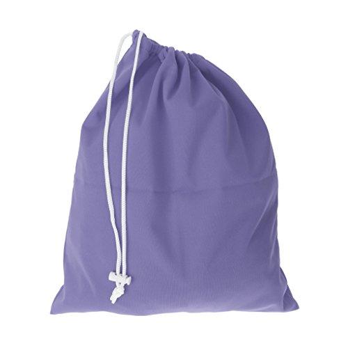 Bolsa De Pañales Para Bebés A Prueba De Agua Bolsa Reutilizable Lazo De Cierre Del Pañal Bolsas - Púrpura, un tamaño