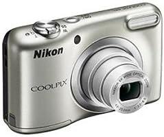 Nikon Coolpix A10 Kamera Kit silber