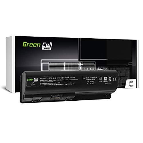 GC® PRO Serie Laptop Akku für HP Pavilion DV5-1010EZ DV5-1010TU DV5-1010TX DV5-1010US DV5-1011 (Samsung SDI Zellen 5200mAh 10.8V Schwarz) -