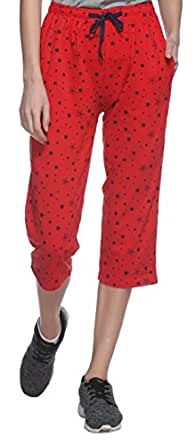 SHAUN Women's Loose Fit Capri