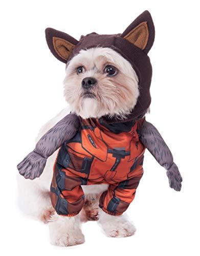 Rubie 's Marvel Walking Rocket Raccoon Pet Kostüm, Mittel