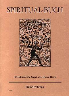 SPIRITUAL BUCH - arrangiert für E-Orgel [Noten / Sheetmusic] - Orgel-musik-bücher