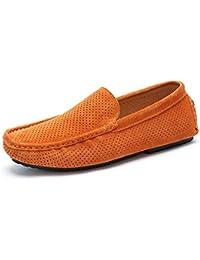 BOYAN pour Homme décontracté Daim Cuir Mocassins Slip on Chaussures de  Conduite de Bateau… c7260eafe433
