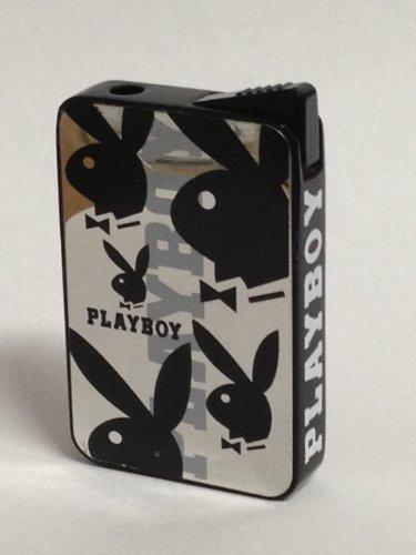 muy-bonito-playboy-de-mechero-de-espejo-de-colour-negro-con-diseno-de-conejo-motive4