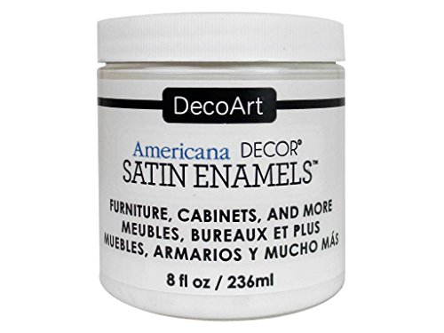 Deco Art decadsa-36.3Decor Satin Enamels warmwht Americana Decor Satin Enamels 8oz warmwht