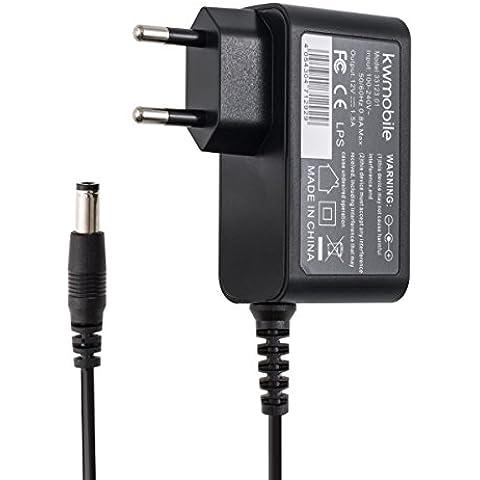 kwmobile cargador para Bose SoundLink Mini en negro - un rayo de carga rápida de 12V 1.5A (18W)