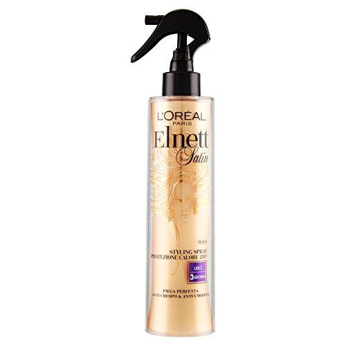 LOréal Paris Elnett Spray Protezione Calore Lisci Lacca Spray per Capelli 170 ml