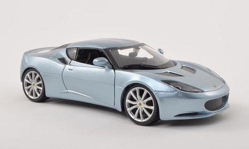lotus-evora-s-ips-argento-blu-metallizzato-modello-di-automobile-modello-prefabbricato-bburago-124-m