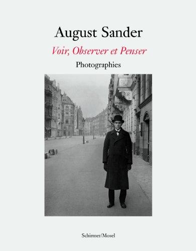 August Sander Voir Observer Penser