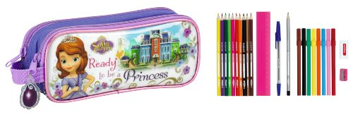 Princesa Sofía – Portatodo doble de 23 piezas (Safta 811416707)