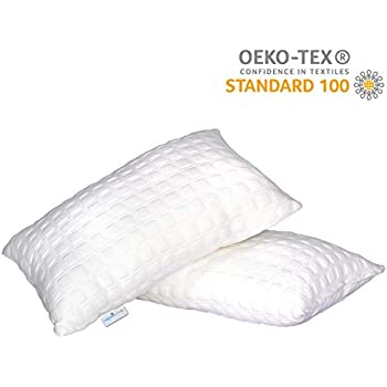 Dreamfactory 400 GSM Knitted Fabric Soft Sleeping Pillow (Single)