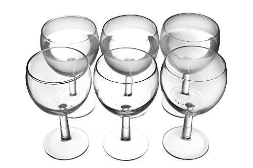 Weinglas 0,1 l Füllstrich 6er Pack