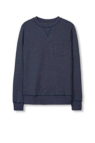 ESPRIT Herren Sweatshirt 017ee2j002 Blau (Navy 400)