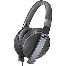 Sennheiser HD 4.20s - Microauriculares de diadema cerrados, compatible con smartphones y tablets, color negro