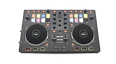 Gemini SLATE 2-Channel Slim Virtual DJ Controller