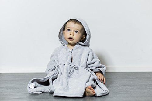 """Mabyen ● Baby Poncho ● Babybademantel ● Kapuzenbademantel ● Badehandtuch ● Bekannt Aus """"Die Höhle Der Löwen"""" ● 100% Baumwolle ÖkoTex"""