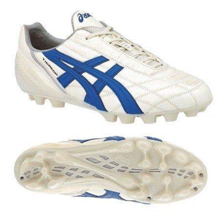Asics Herrenfußballschuhe Tigreor It PY4089454 White - Royal - Bianco - Blue - cultura gold