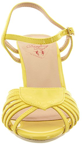 Dancing Days Banned Sandaletten Amelia BND108 Yellow