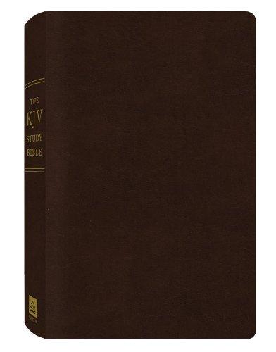 KJV Study Bible Burgundy Bonded Leather (King James Bible)